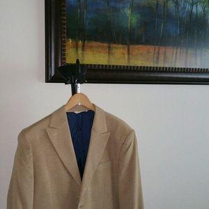Men sports coat 42 R feels like suede